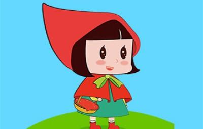 儿童动画片图片-小红帽