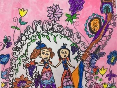 儿童画展美术作品图片