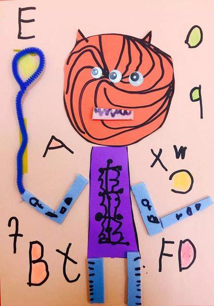 儿童画画大全简单漂亮机器人