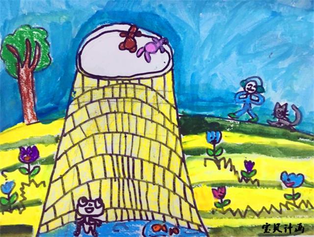 以上是宝贝计画儿童创意美术图片青蛙-绘画学员画作,希望帮助到各位